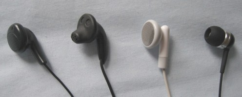 Philips, Sony, Apple and Sennheiser buds...