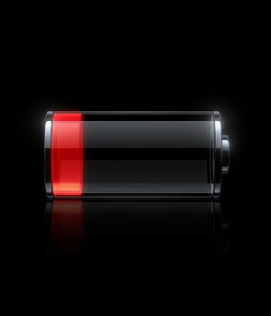 iPhone low battery screen